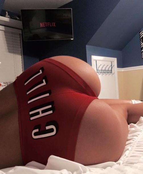 Ass In Cotton Panties 121