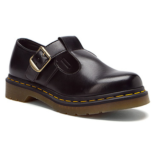 shoes black buckles DrMartens cute