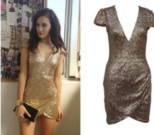 b614a874b3 dress gold sequins dress short mini party dress bodycon dress