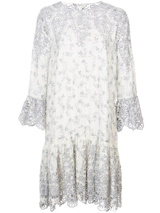 dress lace dress women lace white