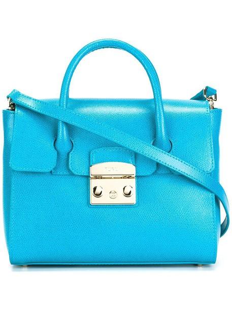 Furla women blue bag