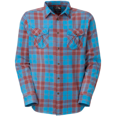 The North Face Gallito Flannel Shirt - Long-Sleeve - Men's | Backcountry.com