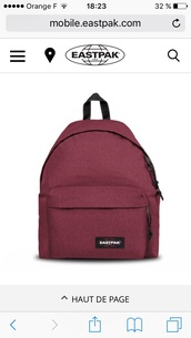 bag,burgundy,rouge bordeaux,backpack
