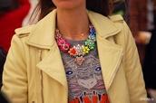 jewels,aliexpress,shourouk,statement necklace,neon,rhinestones,fashion,wanted,free shipping