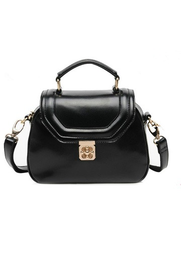 Pure Color Twistlock Satchel [FPB164]- US$85.99 - PersunMall.com