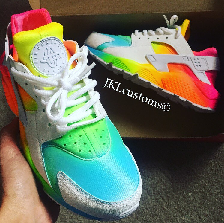 preview of fast delivery various colors OMBRE-NEON Summer Nike Air Huarache, Unisex Nike Huarache ...