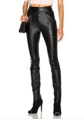 pants,leather,noir,skinny pants,shiny,high waisted