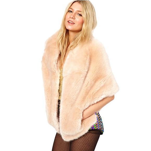 fur fourrure fashion jacket nude mode modeling fur coat nude coat instagramfashion clothes