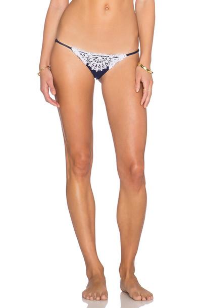 BLUE LIFE bikini navy swimwear