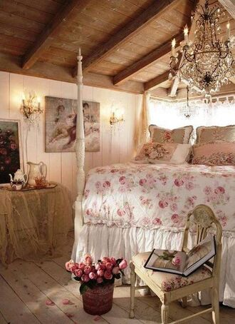 bedroom girly bedsheets antique rock rose bedding vintage