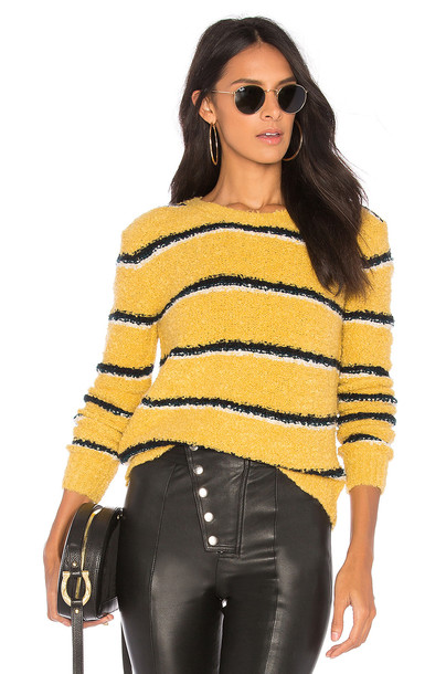 Free People sweater yellow