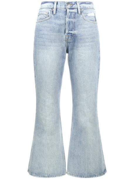 Frame Denim jeans flare jeans flare women cotton blue 24