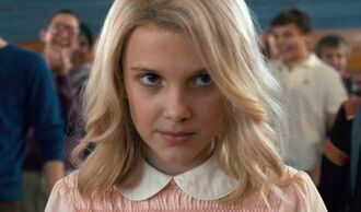 hair accessory millie bobby brown stranger things tv show blonde hair