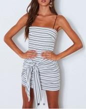 dress,girly,girl,girly wishlist,bodycon dress,bodycon,stripes,striped dress,mini,mini dress