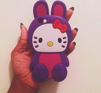 phone cover hello kitty bunny