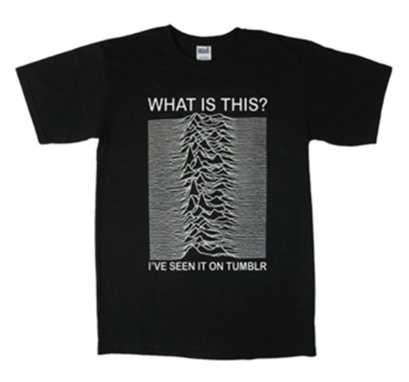 joy division print black shirt tumblr