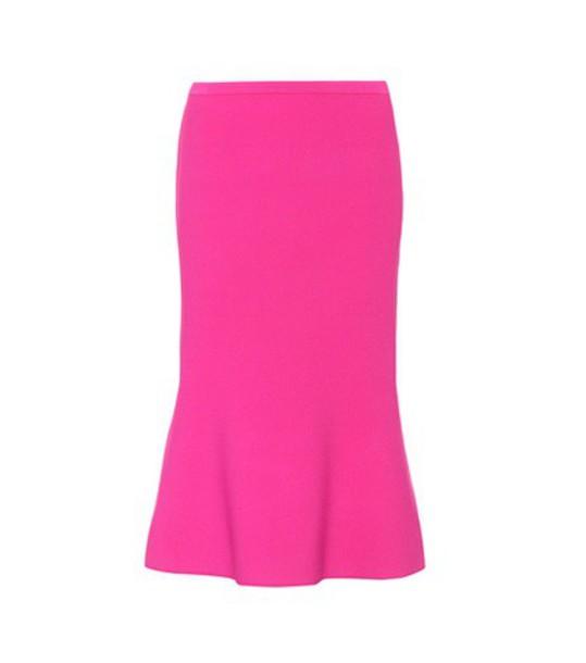 Diane Von Furstenberg skirt knit pink