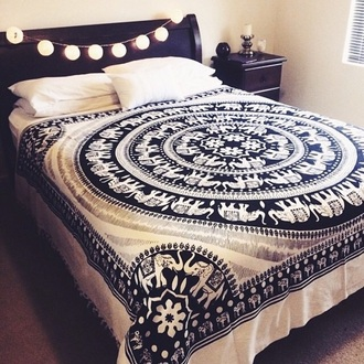 home accessory bedding tapestry elephant mandala bedroom