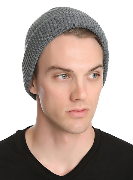 Grey Beanie | Hot Topic