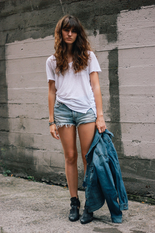 the mop top blogger jacket t-shirt shoes