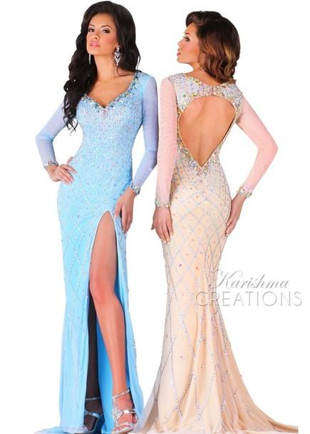 dress, blue dress, white dress, frozen, elsa, gown, long, sleeveless ...