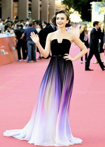 Rainbow Prom Dress