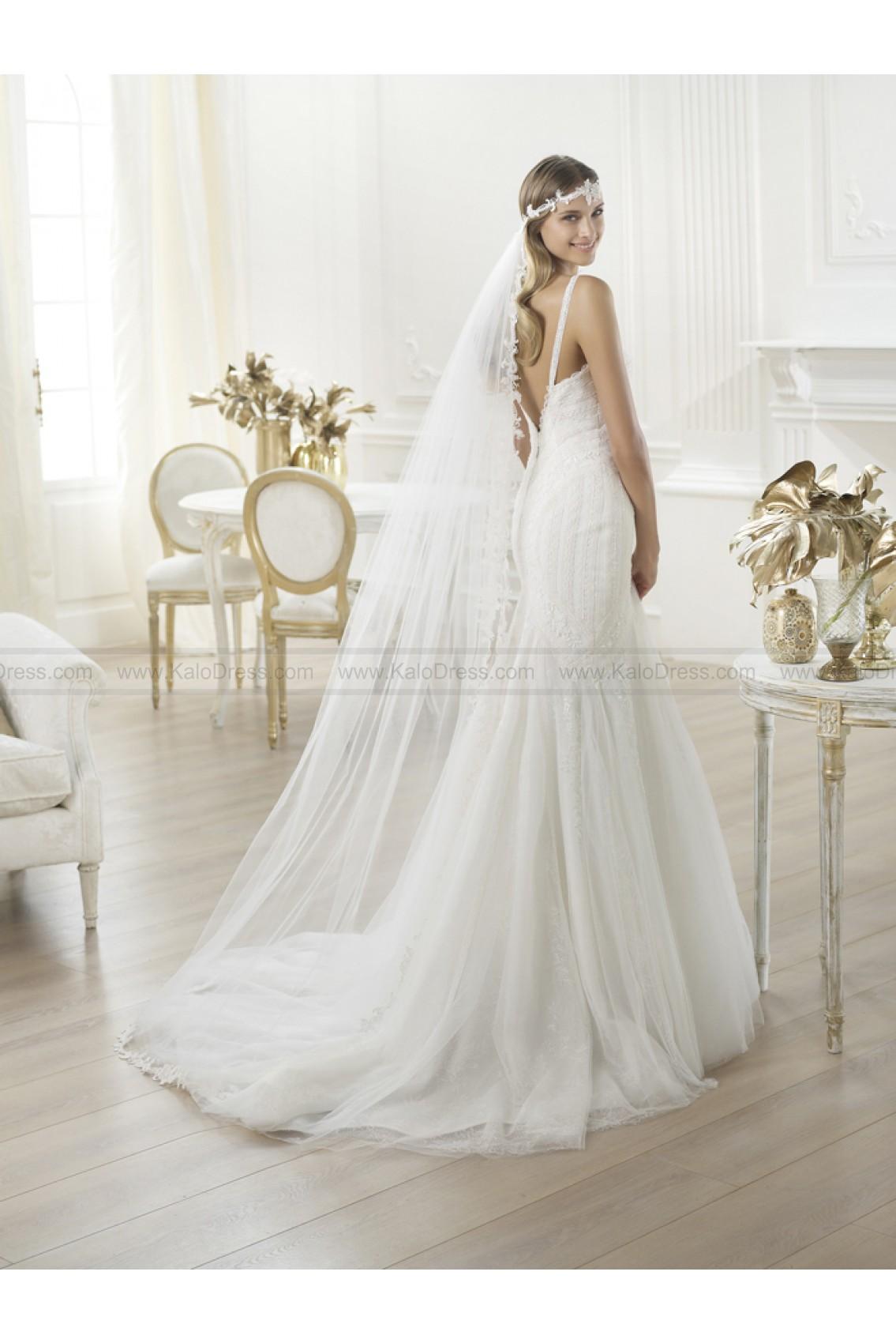 Pronovias Wedding Dresses - Style Lary - Wedding Dresses 2014 New - Formal Wedding Dresses