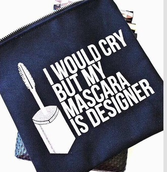 bag quote on it mascara designer make-up