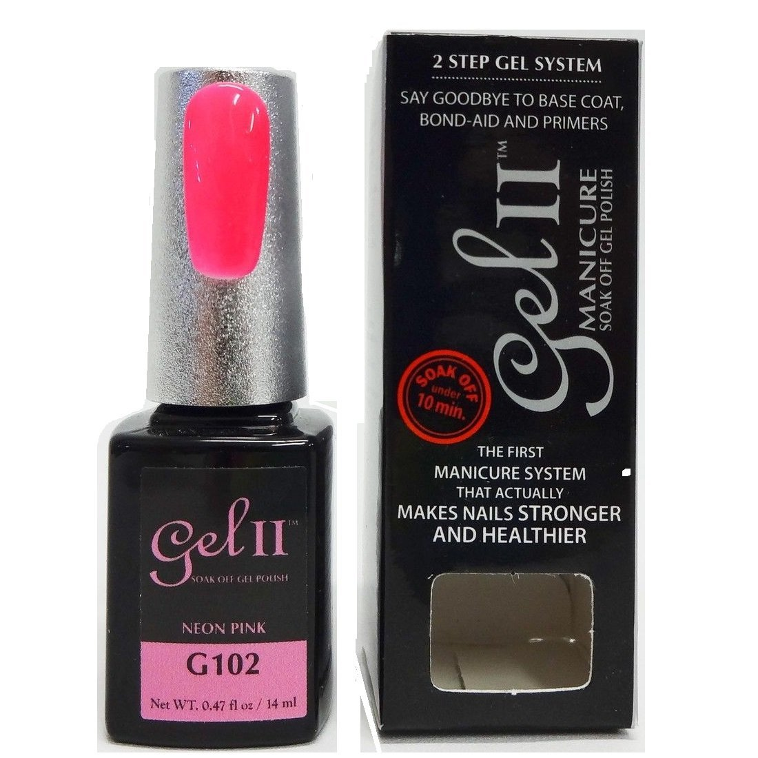 Off gel polish, neon pink, 0.47 ounce : beauty