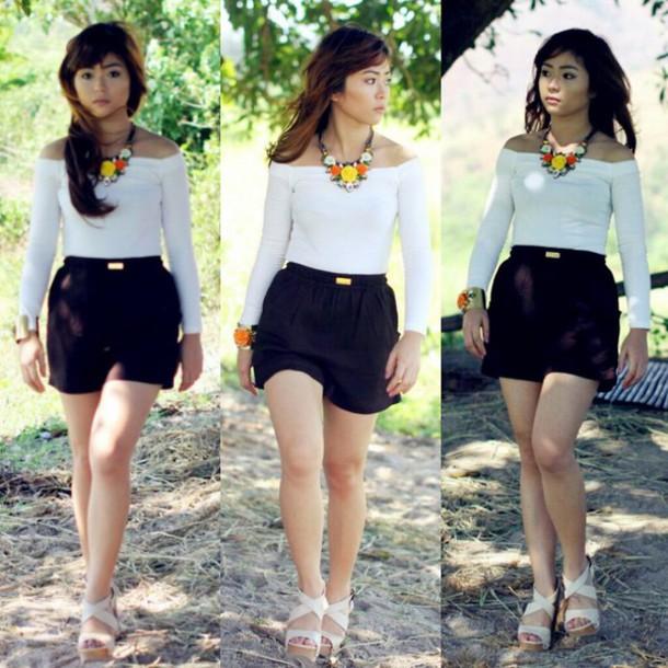 shorts black classy