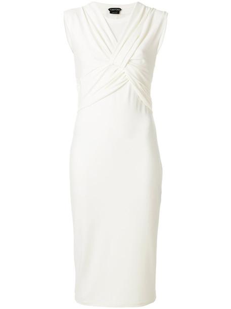 Tom Ford dress women spandex white