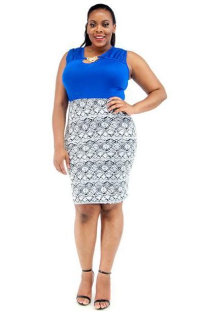 skirt pencil skirt blue skirt blue white midi skirt