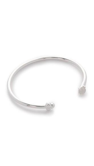 cuff cuff bracelet silver jewels