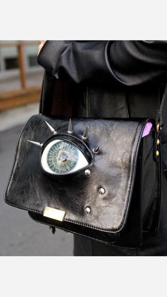 spike bag eyeball
