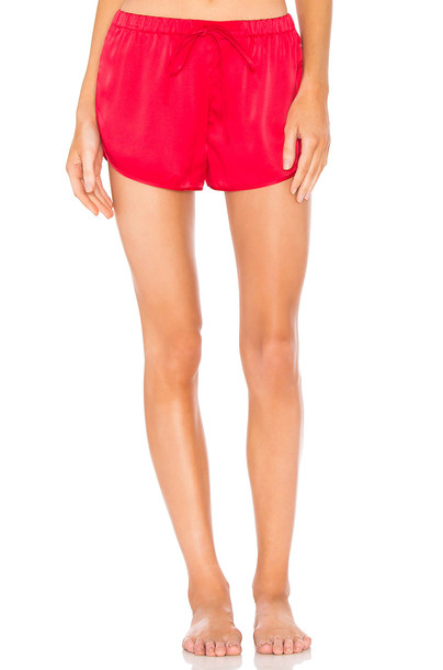 VIOLET & WREN shorts sports shorts red