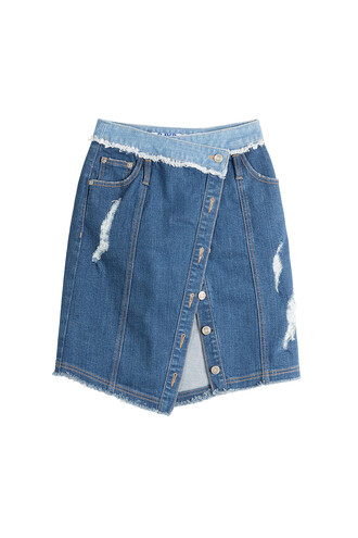 skirt denim skirt denim blue