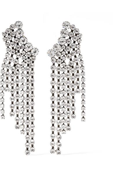 Isabel Marant - Silver-tone Crystal Earrings - Silver-tone Crystal Earrings