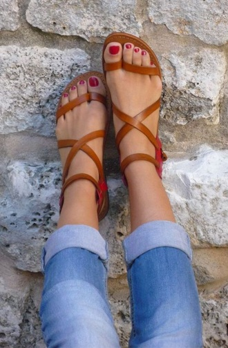 shoes summer shoes style nude sandals