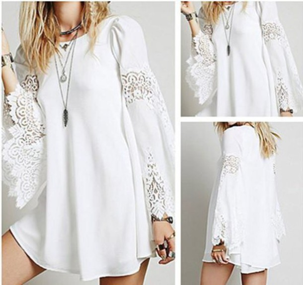 dress white dress white lace dress