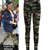 Taylor | Camouflage Army Print Leggings