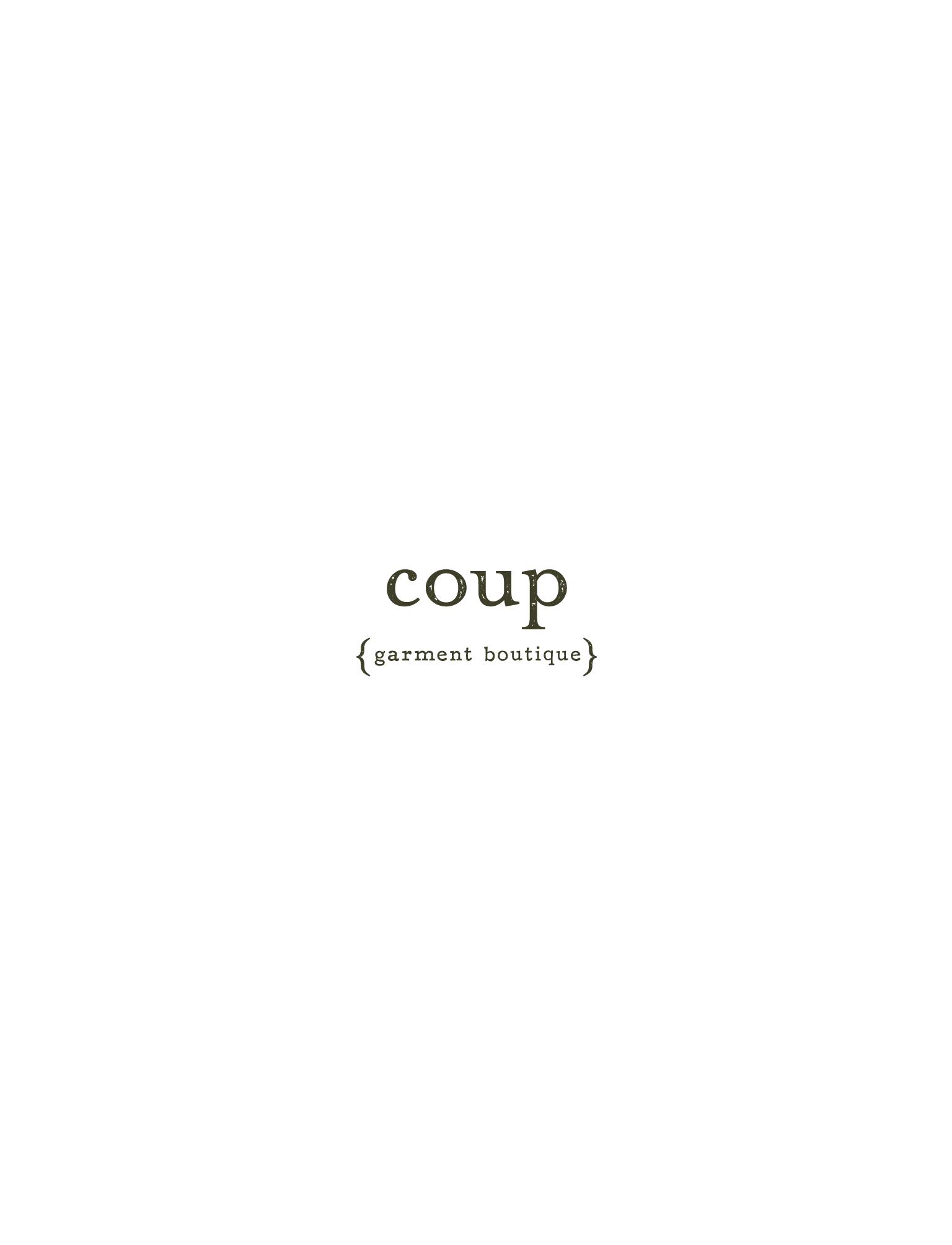Coup Garment Boutique