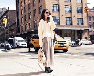 bag miu miu deerskin leather bag 178$ sweater skirt shoes sunglasses