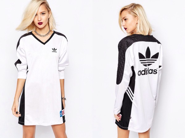 dress adidas black and white rita ora adidas dress