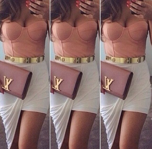 designer Belt lv clutch bustier hi low skirt color,high low skirts designers skirt bag