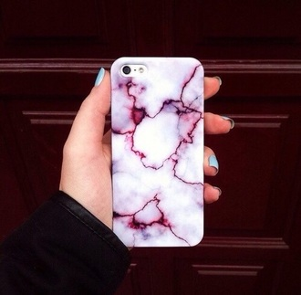 phone cover cover phone samsung android iphone apple marble white red pink purple burgundy accessory fashion style