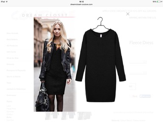 dress fashion vintage boho girly girl hipster neon black classy indie winter outfits autumn amazing comfy style black dress little black dress winter sweater famous dream closet couture