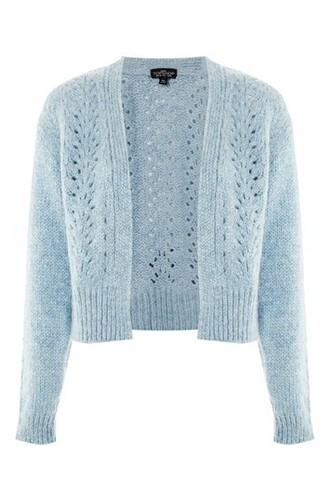 cardigan mohair blue sweater