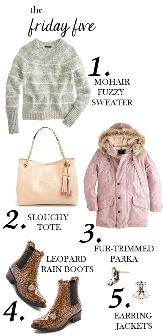 m loves m blogger bag parka leopard print wellies grey sweater earrings sweater coat jacket shoes jewels