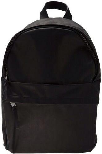 bag leather backpack backpack faux leather patent leather black backpack