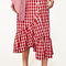 Gingham frilled skirt - view all-skirts-woman | zara macedonia